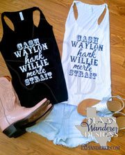 Country Legends Tank Tops