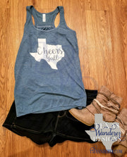 Texas Cheers Y'all Tank Top