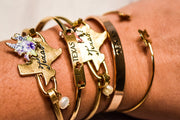 I Love Texas Cut Out Bar Bracelet