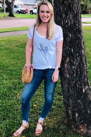 Texas Bluebonnet Shirt | Texas Wildflowers | Bluebonnet Shirt