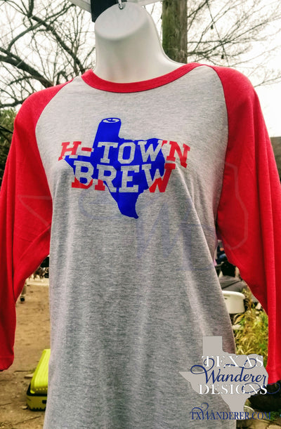Houston Brewery Raglan Shirt