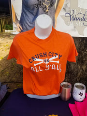 Crush City Orange Shirt