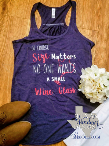 Funny Wine Tank Top