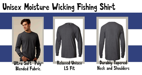 Moisture Wicking Fishing Shirt