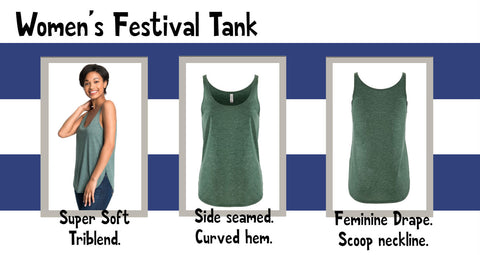 Next Level Festival Champagne Tank