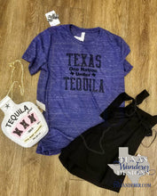 Load image into Gallery viewer, Texas One Nation Under Tequila Shirt - Funny Texas Tee
