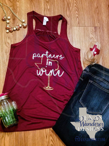 Partners in Crime Wine Tank