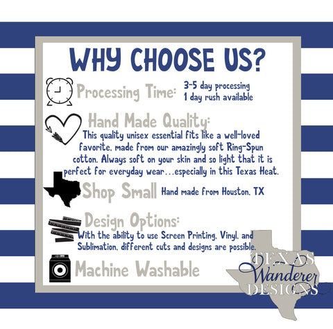 Why choose Texas Wanderer as your premier Texas Brand