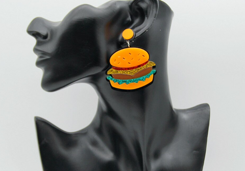 Summer BarBQ Earrings
