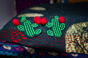 kate spade cactus earrings