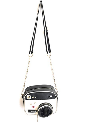 Smile for the Camera fun photographer purse