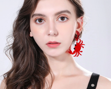 Load image into Gallery viewer, Seafood Earrings, Seafood Jewelry