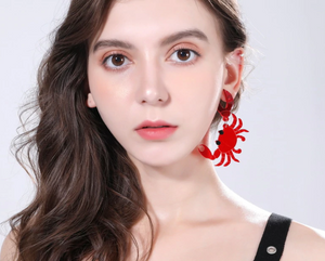 Seafood Earrings, Seafood Jewelry