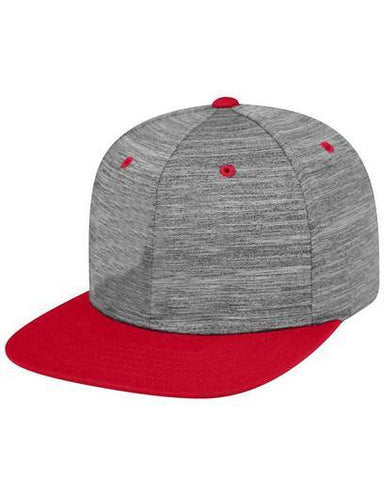 6 panel Top Of The World Flat bill Structured Adjustable snap back Hat