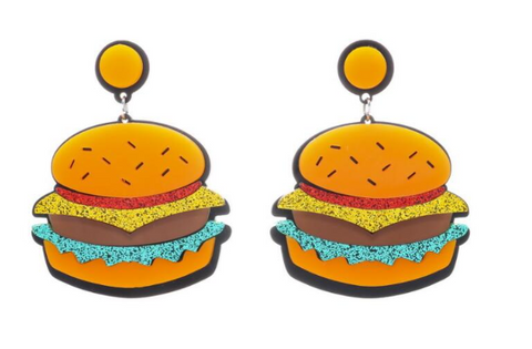 Summer Burger earrings