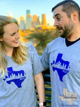 Load image into Gallery viewer, Houston Texas Skyline Shirt