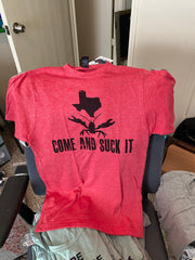 Come and Suck it Crawfish Texas Shirt