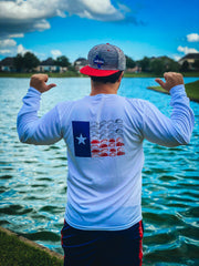 Texas Flag Shirt, Texas Flag Long Sleeve Shirt