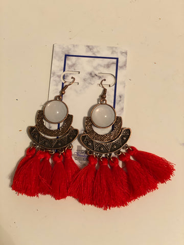 Fringe Earrings Dangle