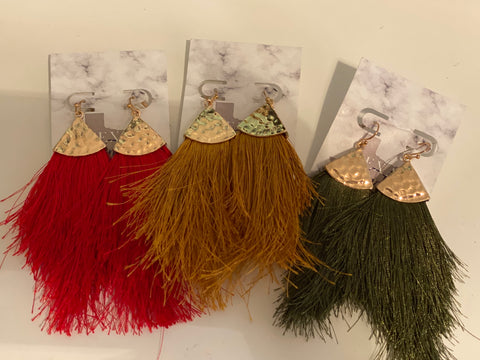 Fun Fringe Earrings