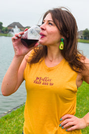 Wine Lovers Shirt, Fredericksburg Wine Shirt
