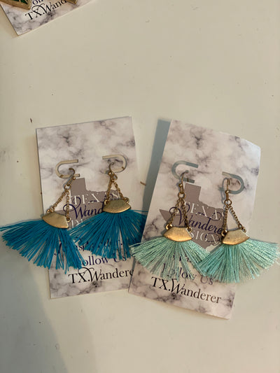 Fringy Earrings