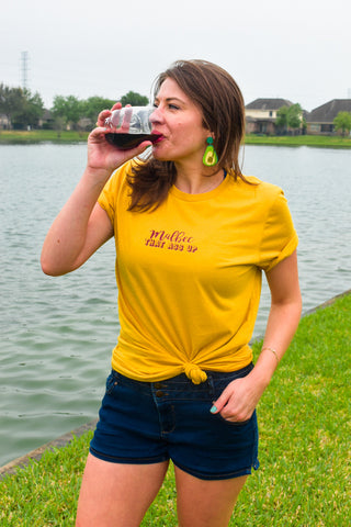 Wine Workout Shirt