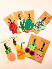 Summer Luggage Tags