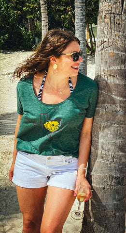 Texas Sunflower Shirt | Texas Wildflower Shirt | Texas Shirt