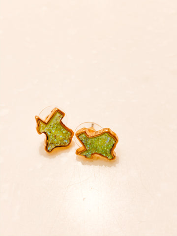 Texas Drusy Earrings