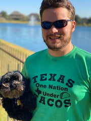 Texas One Nation Under Tacos Unisex Shirt