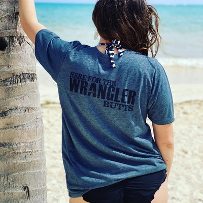 I'm here for the Wrangler Butts Shirts