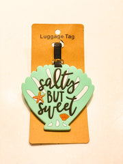 Salty Summer Luggage Tag