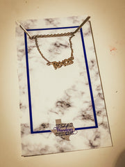 Gold Texas Necklace
