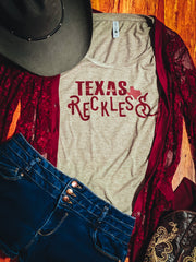Texas Reckless Shirt, Texas Rodeo Shirt