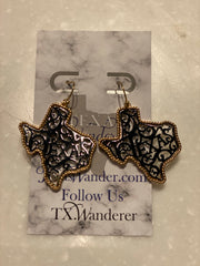 Texas Fun Dangle Earrings