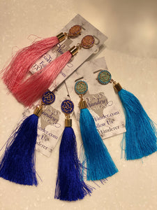 Fringe Dangle Earrings