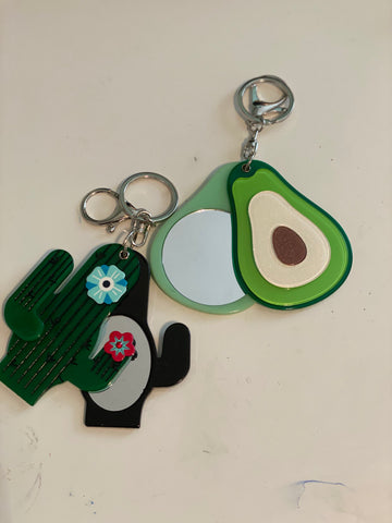 Cactus Lover Key Chain