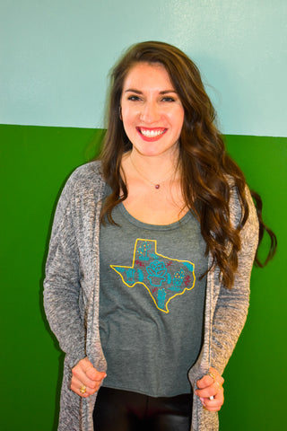 Texas Suculent Shirt | Texas Cactus Shirt