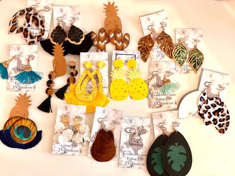Collection of Sale Earrings