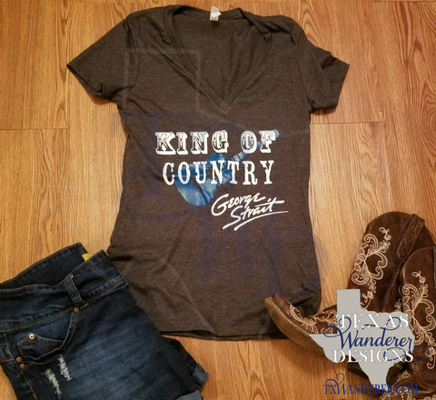George Strait King of Country Shirt