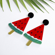 Watermelon Earrings, Summer Earrings