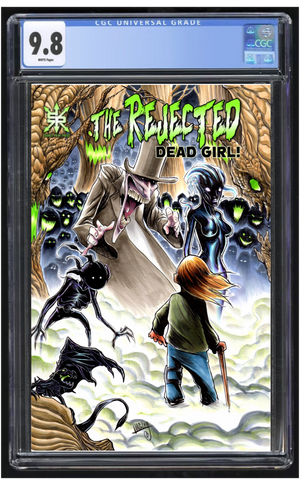 Rejected Dead Girl #1 Langley CGC 9.8