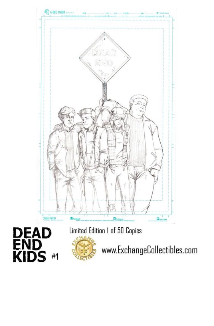 Dead End Kids 1 B&W Virgin