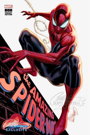 "Amazing Spider-Man 800 Campbell Cover ""A"" Spider-Man"