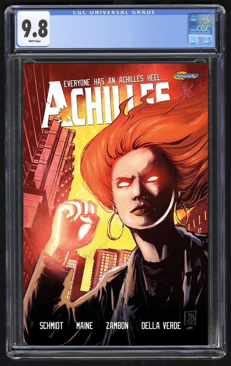 Achilles Inc #3 Trade Dress, CGC 9.8