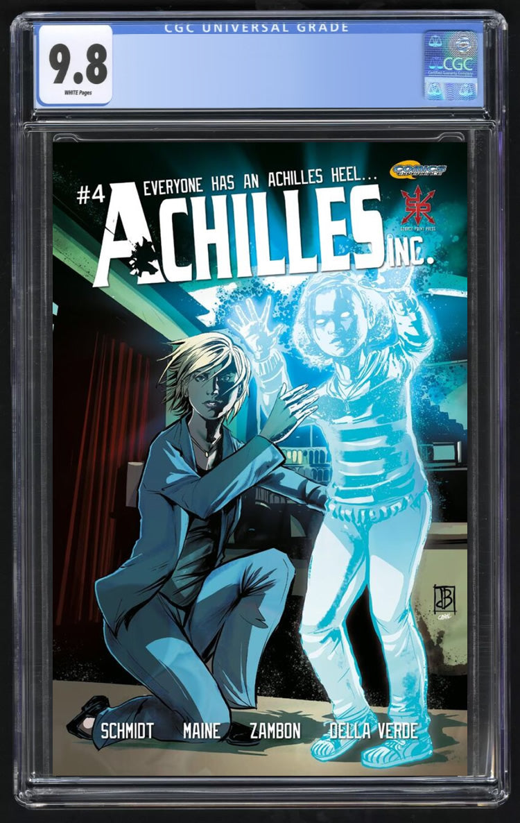Achillies Inc # 4 Silvio DB Trade Dress  CGC 9.8