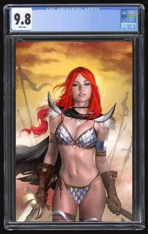 Red Sonja Age of Chaos #6 Burns CGC 9.8