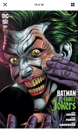 Batman Three Jokers #2 5 Book Set