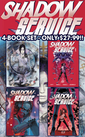 Shadow Service #1 4 Book Set